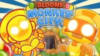 SUN GOD W AKCJI   #015   Bloons Monkey City   PL