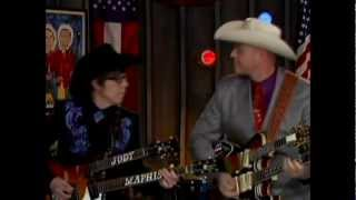Deke Dickerson & Cousin Kenny Vaughan at the Marty Stuart Show
