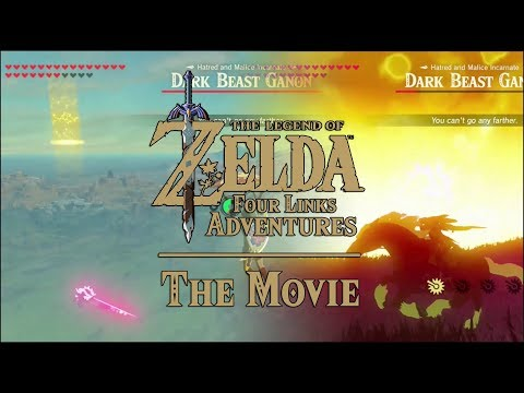 Zelda Four Links Adventures THE MOVIE within Breath of the Wild (BEST Fan Fiction on Youtube Movies)