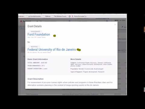 Foundations Map: Exploring Funding with a New Visualization Tool [Webinar]