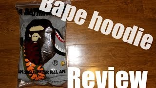Bape hoodie review
