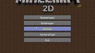 Repeat youtube video Minecraft2D - Singleplayer Gameplay
