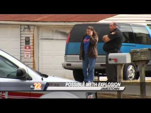 Man In Critical After Possible Meth Lab Explosion - YouTube