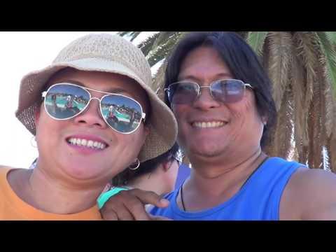 KC & Sydney Alas LA84 fall swimming, 2015