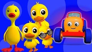 пять маленьких уток | рифмы для детей | дети музыка | Five Little Ducks | 3D Children Song & Rhymes(пять маленьких уток рифмы и песни для детей на русском языке, чтобы петь вместе и наслаждаться нашими 3D-виде..., 2017-03-01T13:00:07.000Z)