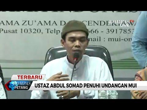[FULL] Klarifikasi Ceramahnya di MUI, Ini 5 Poin yang Disampaikan Ustaz Abdul Somad