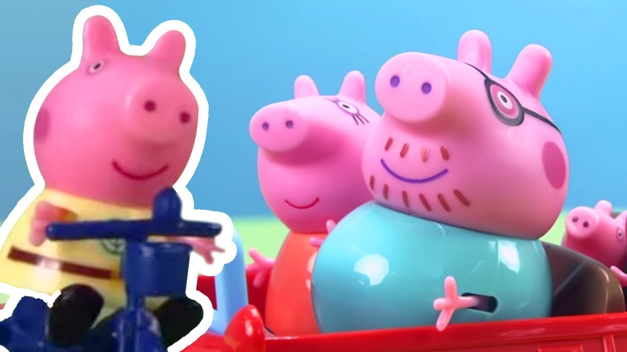 Peppa Pig - Peppa Pig Stop Motion: Peppa Pig's Surprise Holiday - Learning with Peppa Pig