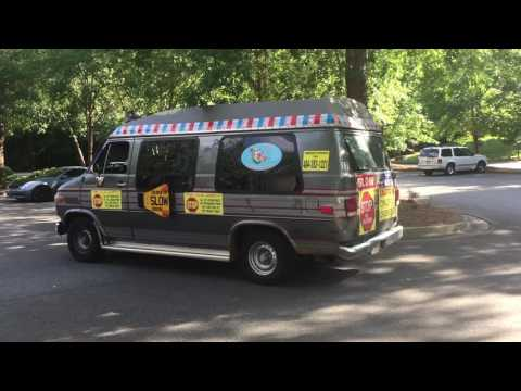 "Ice Cream Truck with creepy ""Hello"" song"