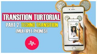 Musical.ly Transition Tutorial   TECHNO TRANSITION