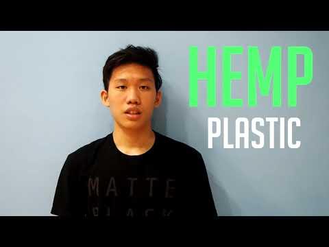 The future of plastic, Hemp plastic