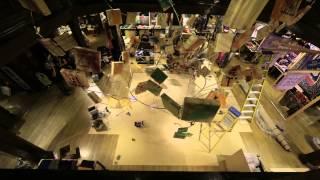 Matilda Liberty installation time-lapse