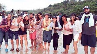 Baar Baar Dekho 2016 |  Song Shoot | Katrina Kaif & Sidharth Malhotra Chills At A Beach !