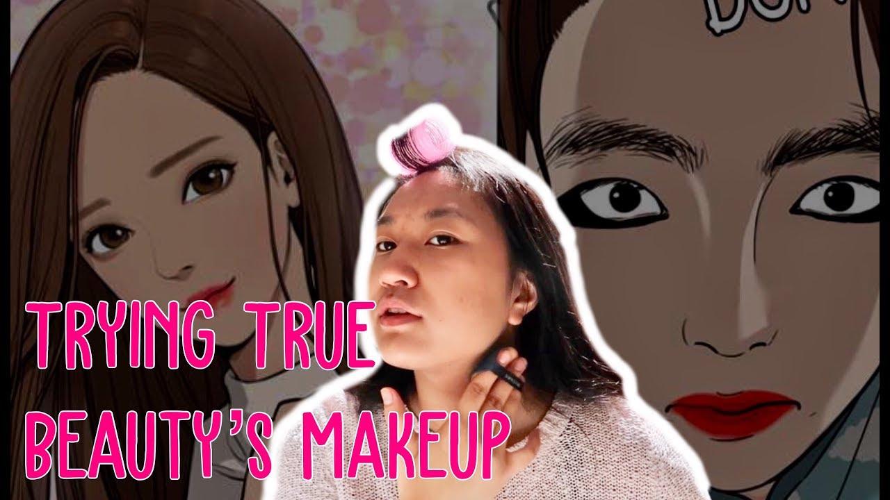 Trying a True Beauty Makeup Tutorial