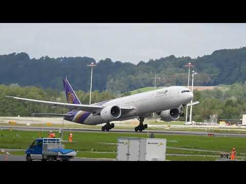 Thai Airway B777 from Zurich to Bangkok , 7.9.2017