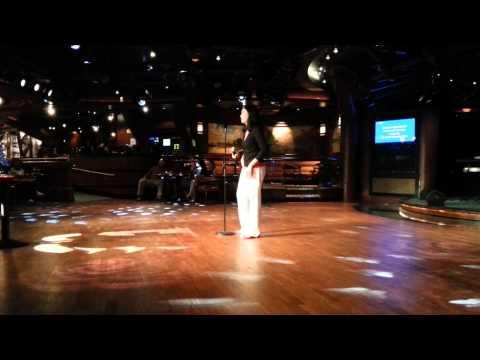 Caribbean Princess karaoke 2015