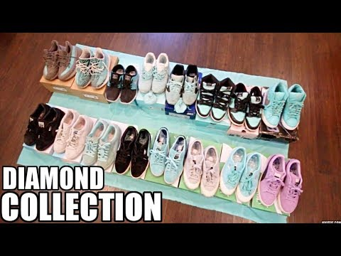 MY DIAMOND SUPPLY CO X TIFFANY SNEAKER COLLECTION !!