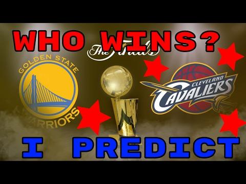 2017 NBA FINALS PREDICTION!!! - CAVS WARRIORS WHO WILL WIN!!! - LEBRON VS DURANT MATCHUP!
