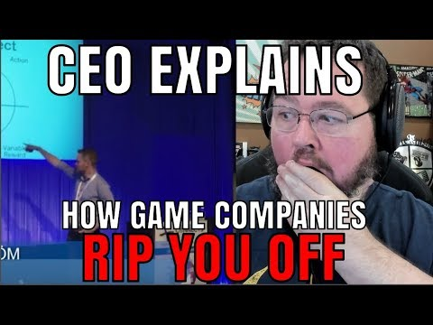 CEO Of Gaming Company Explains How He RIPS YOU OFF.