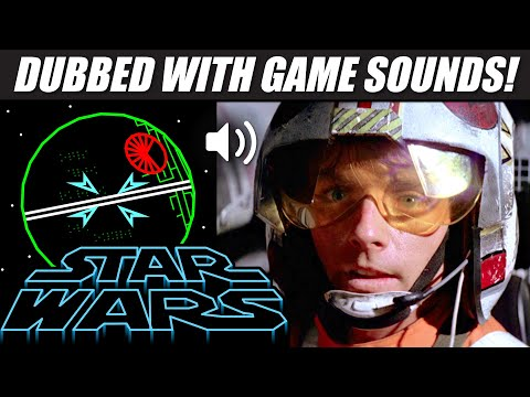 'STAR WARS' with 80s arcade sounds!