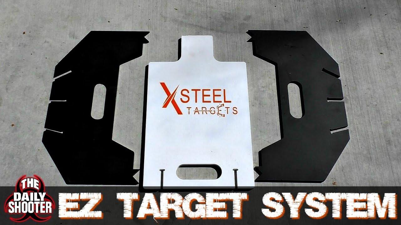 XSteel Targets EZ Target System AR500 Steel Made Affordable