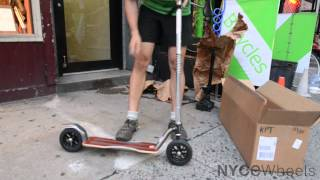KickPed Kick Scooter - Quick Start Guide