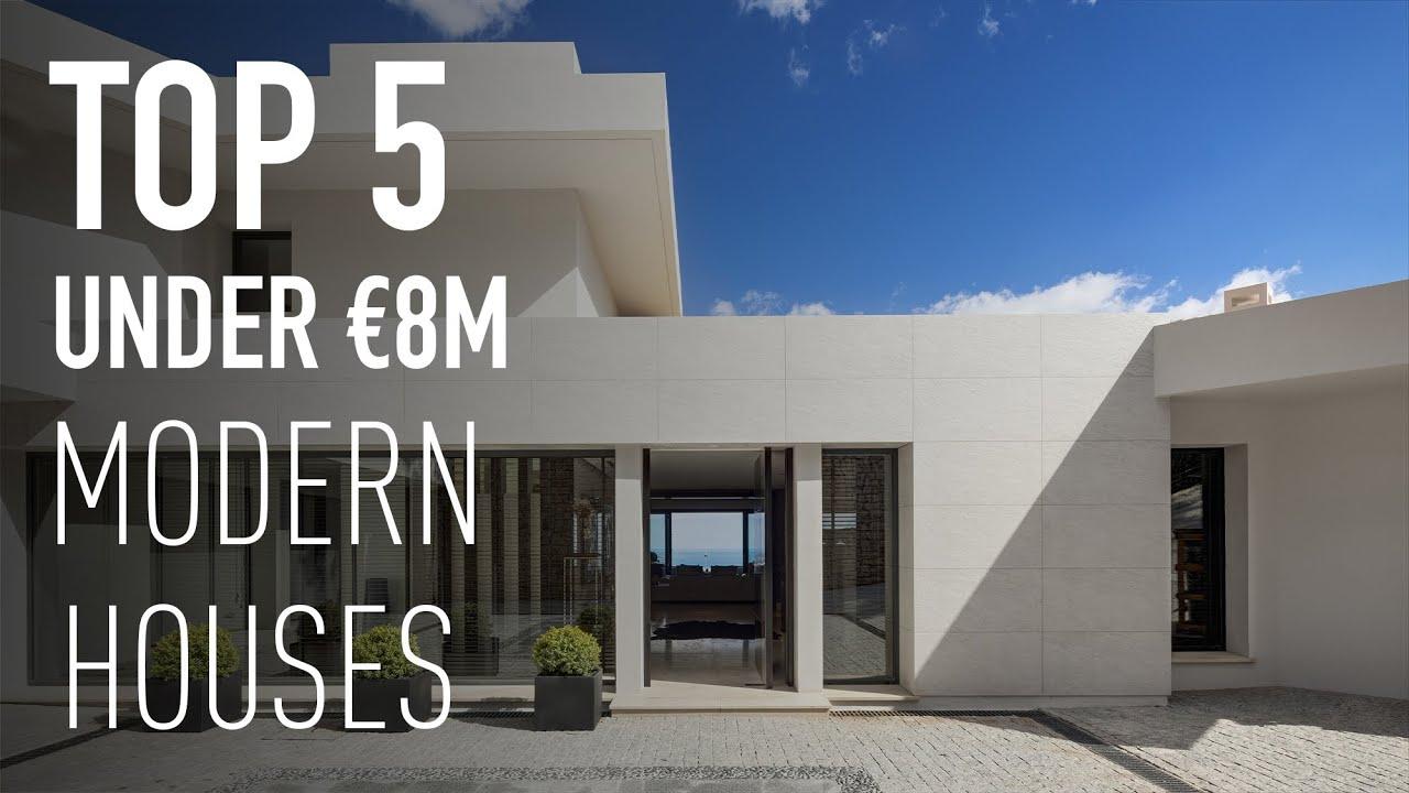 Under €8.000.000 TOP 5 Modern Houses in Marbella | Drumelia Real Estate