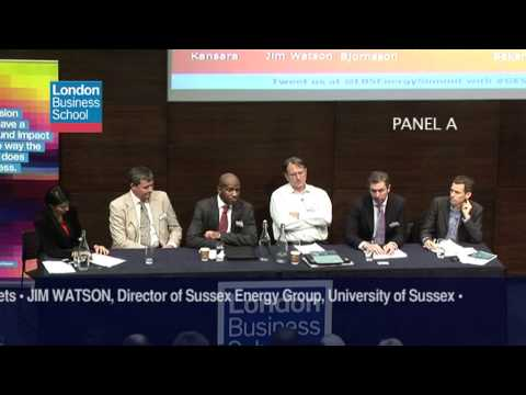 Global Energy Summit 2012 -  Aligning Sectors towards a Sustainable Energy Future (Panel A)