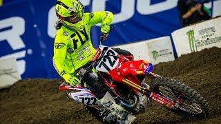 At Anaheim 2, round three of Monster Energy AMA Supercross, an FIM ...