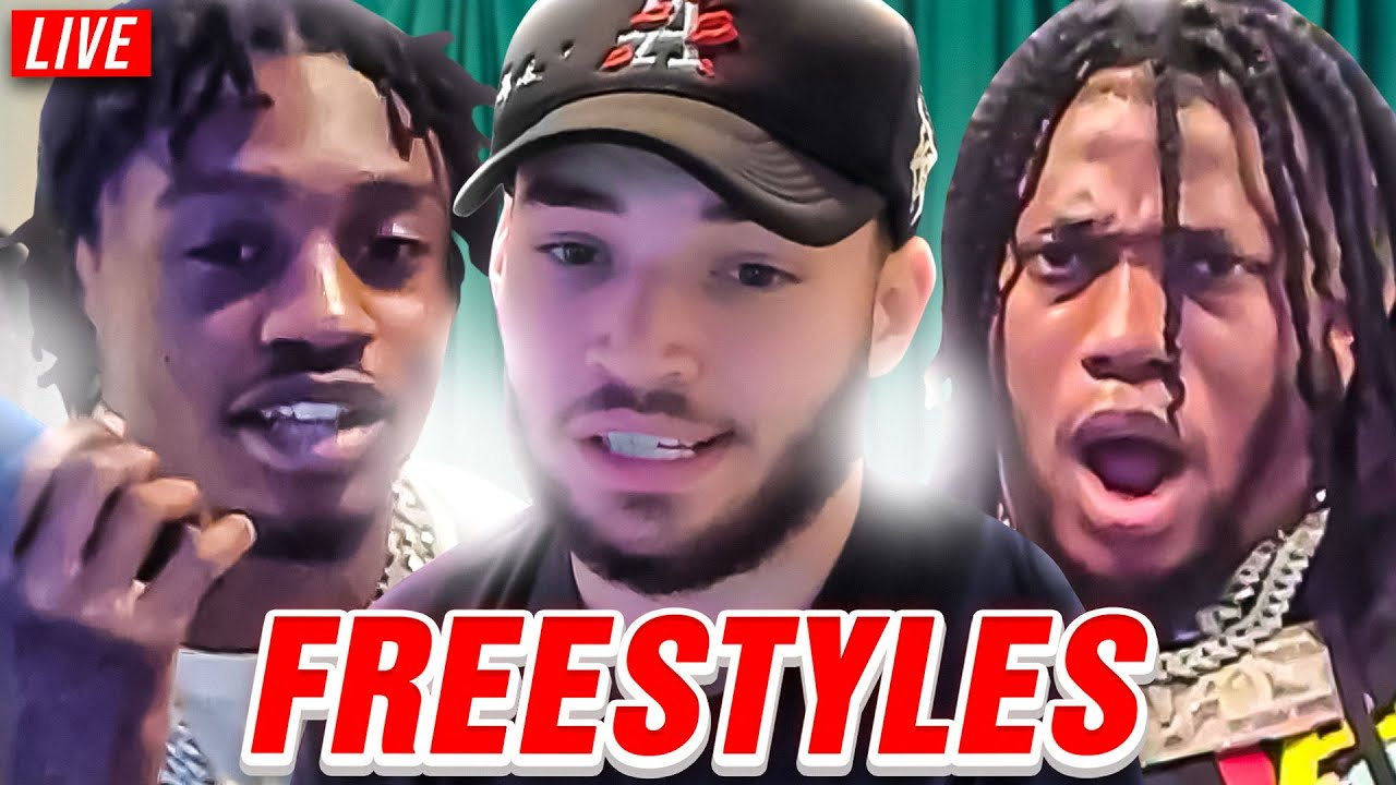 Adin Ross Freestyle Compilation! Ft. ZIAS, LIL TJAY, AMP