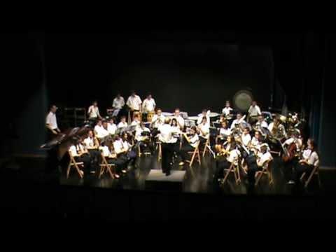 Banda juvenil de Agost interpretando Garota de Ipanema de Antonio Carlos Jobim