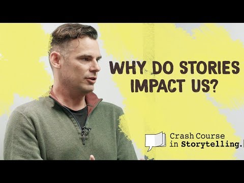 Professor Nathan Scoggins: Why do stories impact us? | Crash Course in Storytelling