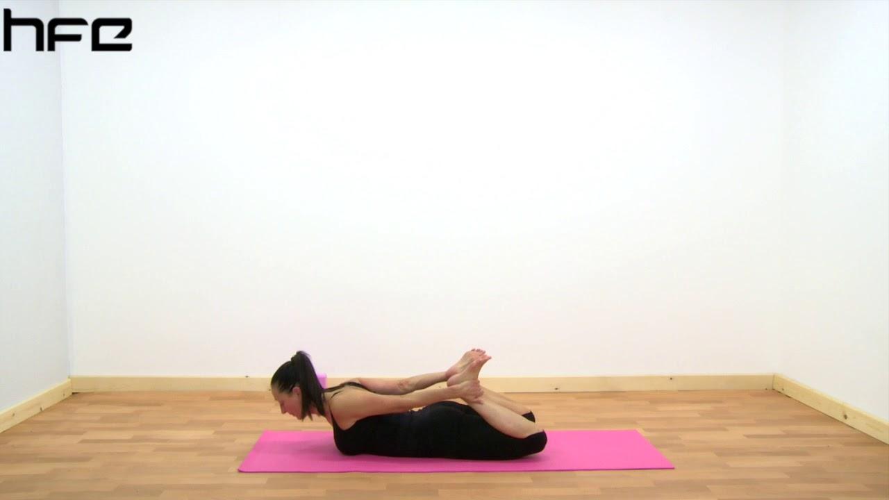 Yoga Poses - Dhanurasana (Bow Pose)