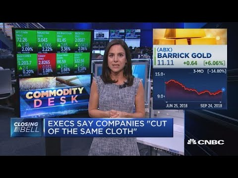 Mega Mining Merger Creates $18B Gold-mining Company