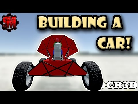 LEARNING TO BUILD A CAR! - Dream Car Racing 3D Ep2