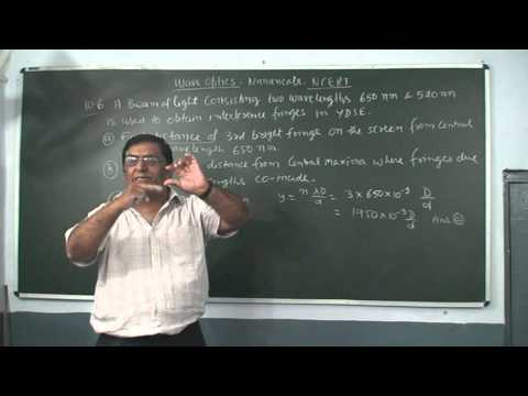 XII_84.Wave Optics, Numericals NCERT