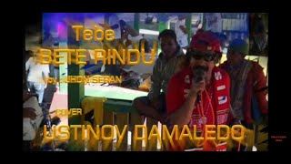 Tebe BETE RINDU, cover USTINOV DAMALEDO. Cipt Jhon Seran