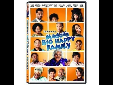 Opening To Madea's Big Happy Family 2011 DVD