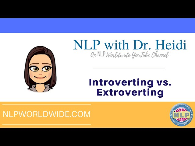 Understanding Introverting vs. Extroverting