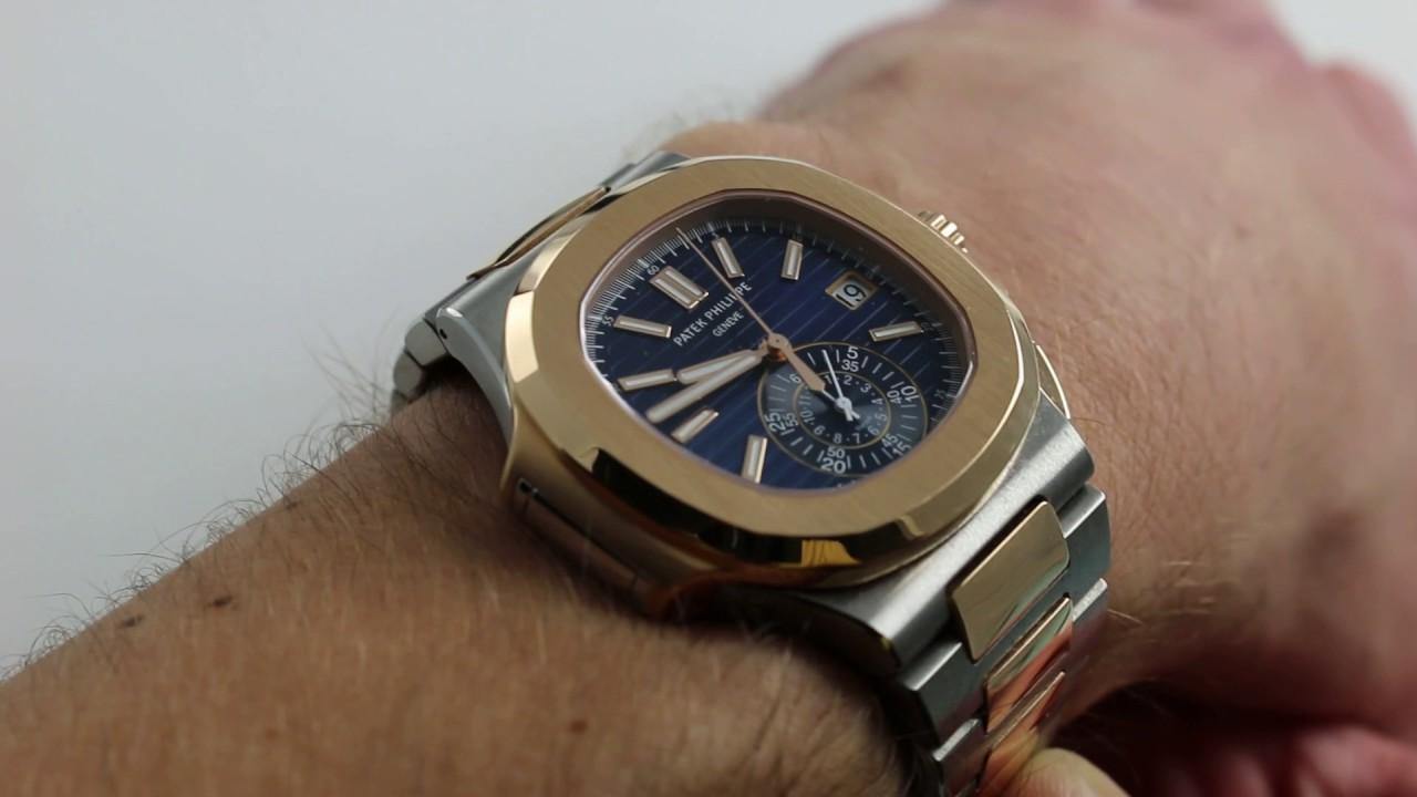 Patek Philippe Nautilus Chronograph 5980 1ar Luxury Watch