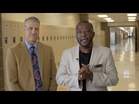 Supt's On: Visiting Cresthill Middle School, Fall Break