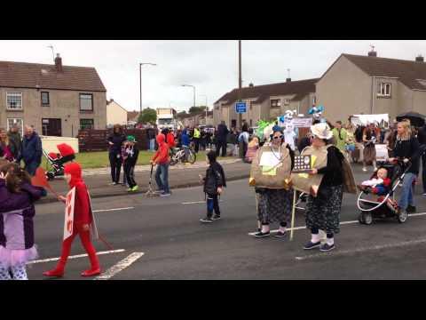 Tranent gala parade 2015