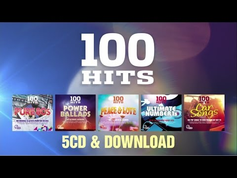 Brand New 100 Hits 2016: Peace & Love, Car Songs, Ultimate Number 1s, Power Ballads, Pure 80s