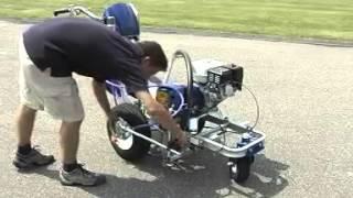 видео Разметочная машина Graco LineLazer 3900
