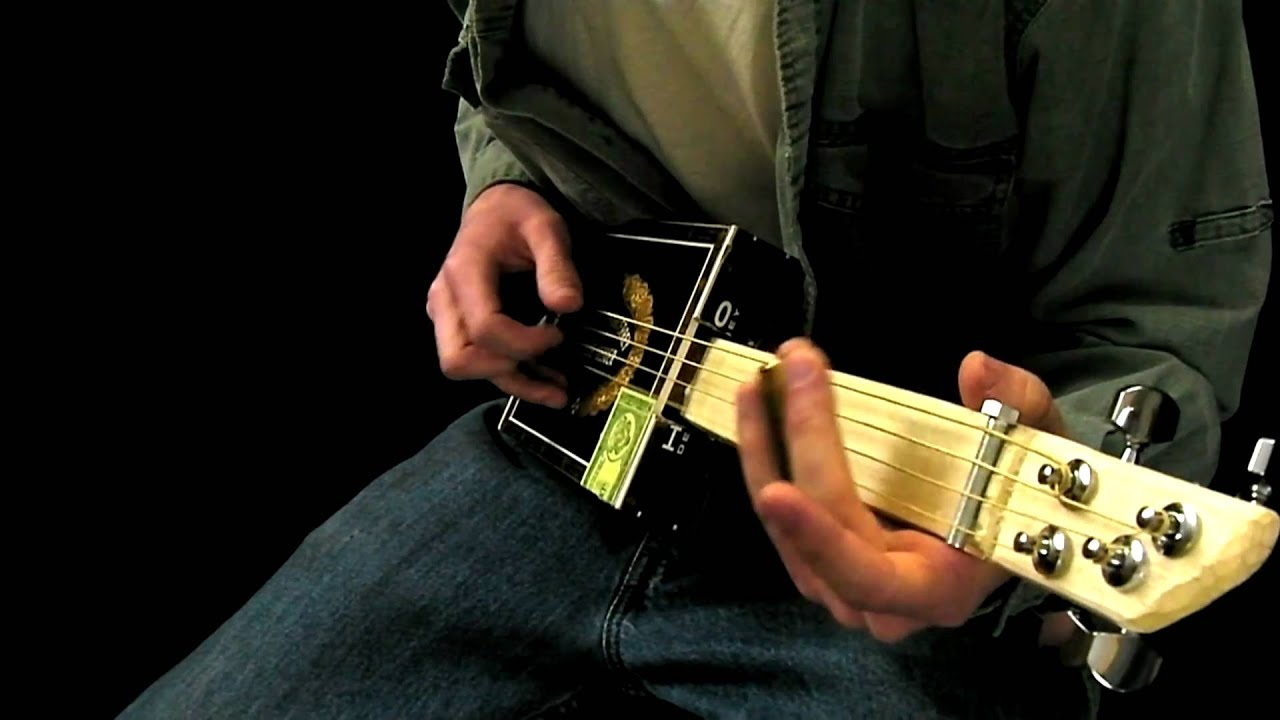 how to make an electric cigar box guitar for 25 youtube. Black Bedroom Furniture Sets. Home Design Ideas
