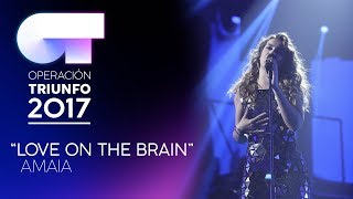 love on the brain amaia ot 2017 gala 11