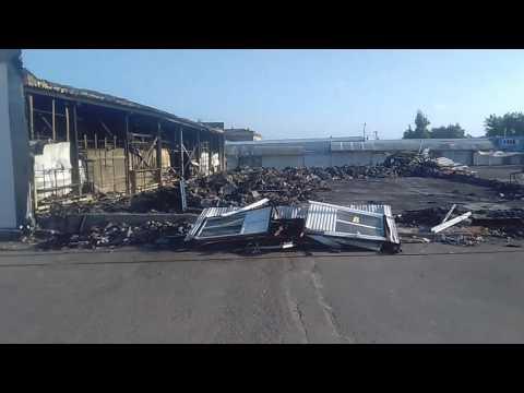 Уфа, Северный рынок, Черниковка, последствия пожара 2