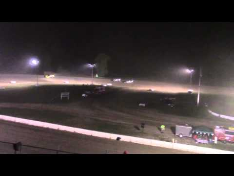 Muskingum County Speedway Late Model Feature 8-29-15