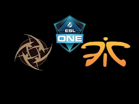 NiP vs Fnatic ESL One Katowice 2019 Highlights Dota 2