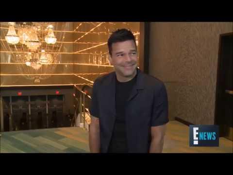 (INTERVIEW) Ricky Martin on E! #RickyALLIN