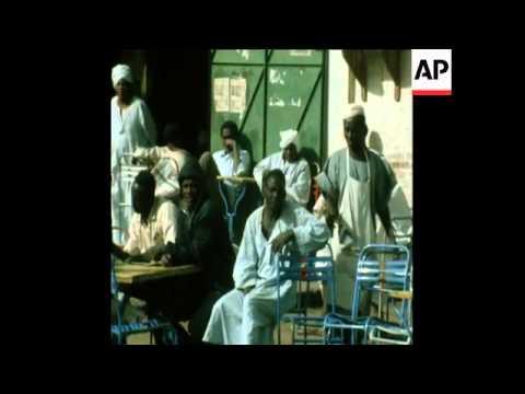 LIB 12-3-73 SCENES OF EVERYDAY LIFE IN KHARTOUM